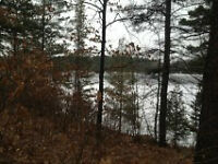 waterfront lot on clear lake 420 feet espanola