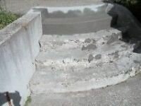 Concrete Repair, Restoration and Re-surfacing