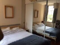 Double room in 3 bed spacious immaculate flat to share with two South African 4 mins walk to tube