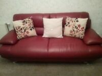 BEAUTIFUL, IN PERFECT CONDITION LEATHER SOFAS