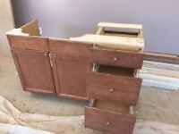 Cabinets - uppers and base cabinet