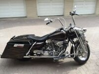 Custom Road King with S&S Motor, 6 speed transmission