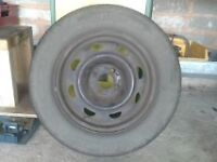 Peugeot 406 wheel and tyre 195/ 65 - 15 , 6mm tread,Breaking