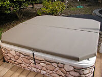 Hot Tub Cover Made by AirFrame