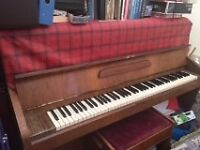 1950's Challen upright piano