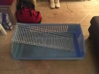 Guinea pig / rabbit cage - 100cm: home for two guinea pigs
