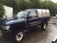 wanted toyota hilux any condition any age any location