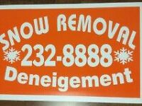 SNOW REMOVAL *** 10 % off *** DIEPPE