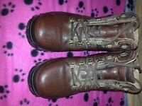 (SORRY Sold to Jill) Brasher boots size 6 brown