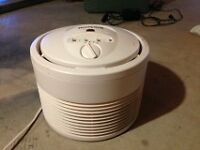 "Hepa Air Purifier by Honeywell 12"" and Filter"