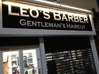 TRADITIONAL CUT THROAT SHAVE - NEW NEW NEW - LEO'S - (opposite Bessemers pub!)