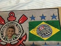 SIGNED CORINTHIANS TAPESTRY ( GABRIEL MEDINA, ADRIANO DE SOUSA, A Fortitude Valley Brisbane North East Preview