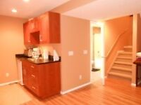Newly-renovated walkout - available immediately