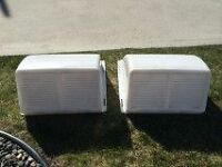 2 roof vent covers