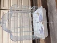Cages neuves a pont Levis pour inséparable, cocktiel