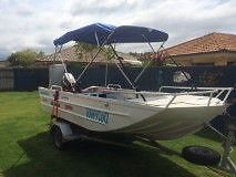 Wavetamer 4.3 m Boat and trailer Sippy Downs Maroochydore Area Preview
