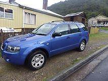 2004 Ford Territory Wagon Queenstown West Coast Area Preview