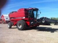 CaseIH  2388 with 2015 Pickup  1800 hrs