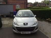 Peugeot 207s low miles 39k FSH Showroom condition BARGAIN!!!