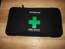 BRAND NEW NISSAN 1ST AID KIT-OEM-76PC WILL INSTALL IN HATCH $35