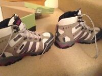 Walking boots made by Gelert, Fully waterproof, Size 7.5 or EU 41