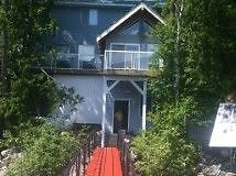 WATERFRONT COTTAGE/CABIN,  SICAMOUS on SHUSWAP LAKE