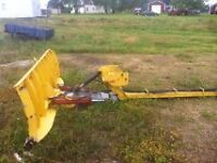Front Plow for farm tractor