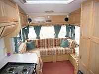 Bailey senator Montana 2000 5 berth with awning some minor damage to outside from awning pole