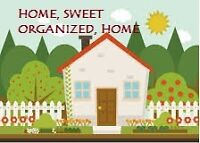 ORGANIZING SERVICES FOR YOUR HOME
