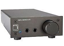 Lehmann Linear Audio Headphone Amplifier - Less Than 10 Hours Use