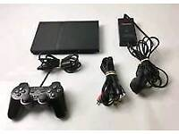 PlayStation 2 slimline+10 Assorted Games, Controller and Memory Card.