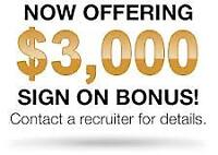 Sign-on Bonus for ALL DRIVERS!