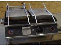 Commercial panini maker