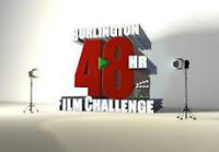 LOOKING FOR ACTORS: Burlington 48 hr film challenge