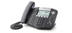 : 6 Polycomm Soundpoint IP 550 Handsets for Sale