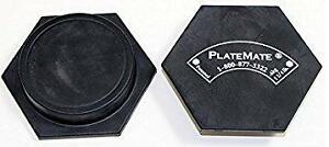 BRAND NEW PAIR OF 1.25LB PLATEMATES - Magnetic Plates that Snap