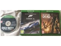 Call Of Duty Black Ops 3, Forza Motorsport 6 And The Walking Dead For Xbox One £40.00