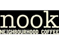 Full and Part time Experienced Barista and Cafe all rounder