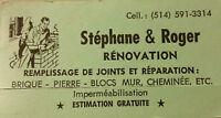 Stéphane & Roger Rénovation