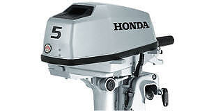 New HONDA 5 HP 4 Stroke Outboard