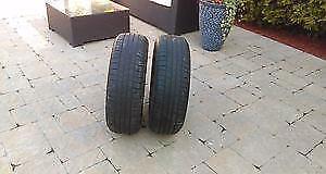 2 pneu été runflat 255/35/19 bridgesone potenza 92Y bon pour 1 été