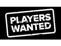 Amateur team looking for players in all positions