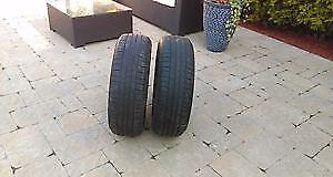 4 pneu d été 225/55/17 yokohama geolander bon pour 2 été a 7/32