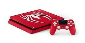 PLAYSATION 4 SLIM 1TB SPIDER-MAN LIMITED EDITION CONSOLE BRAND NEW AND BOXED