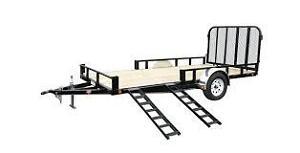 "PJ Trailer - Brand New 14' x 83"" ATV / UTV / Utility Trailer"