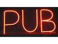Pub to Let required by experienced operators