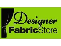 Sales Advisor vacancy at Designer Fabric Store - Great opportunity with immedate start!