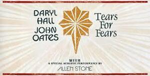 Tears For Fears & Hall and Oates - QUÉBEC JUNE 21st 2017