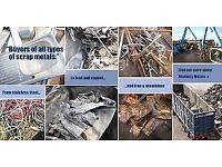 WANTED SCRAP METALS COLLECTORS/ SCRAP CARS/ RUBBISH 24/7 ALL LONDON