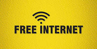 Cheap turned to free unlimited internet
